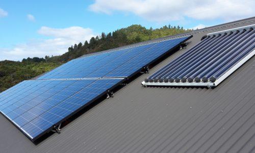Solar + Solar hot water system